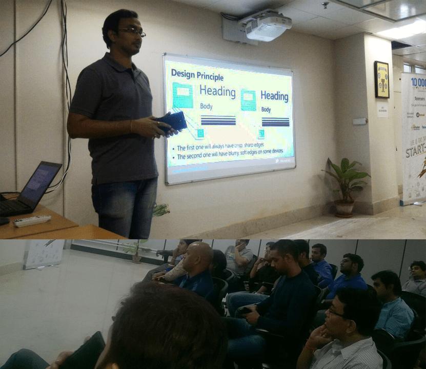 Building Universal Windows App using XAML/C# wd @kunal2383 at @CsharpCorner Kolkata Chapter