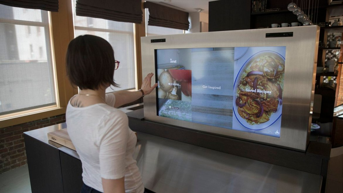 The Internet of things is coming to the kitchen, and it's bringing lots of cameras