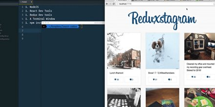 Looking for a #free class on React.js + Redux? Boom.. here you go! Thanks to Wes Bos!