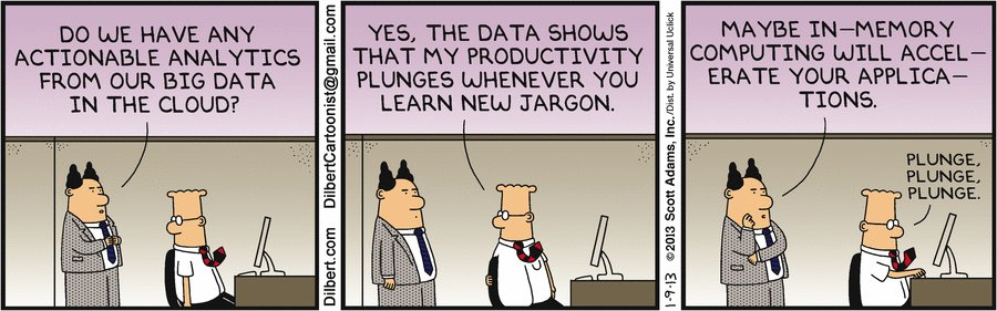 #Dilbert's 20 funniest cartoons on #BigData   via @datamadesimple