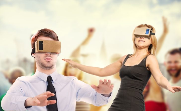 VR Party Game Is A Ridiculously Confusing Virtual Reality Experience For Cardboard