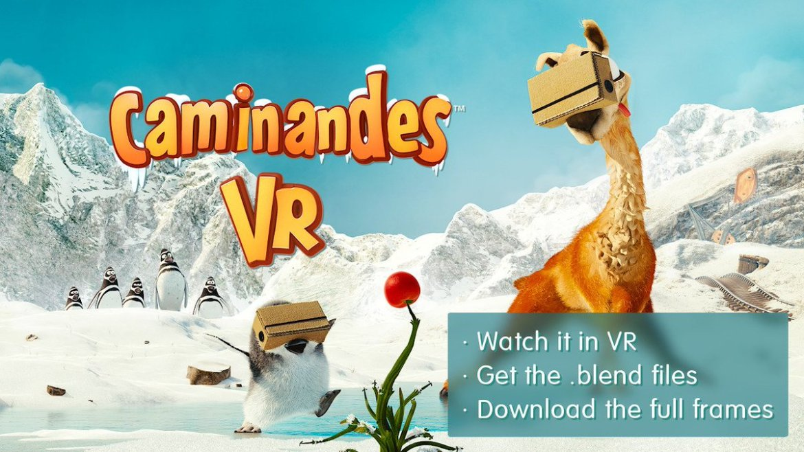Caminandes #VR: a collaboration with the @googlevr team. #b3d  Watch it & get the sources