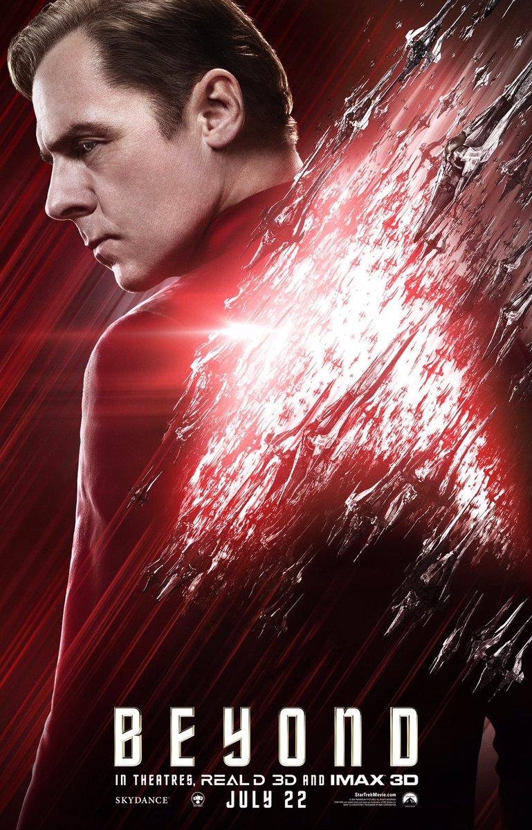 Star Trek Beyond Character Posters Revealed 5
