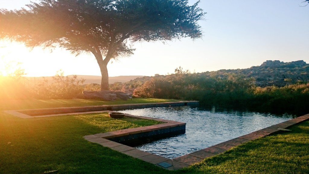 Sunrise at Bushmans Kloof Wilderness Reserve & Wellness Retreat (Copyright: Eugene Yiga)
