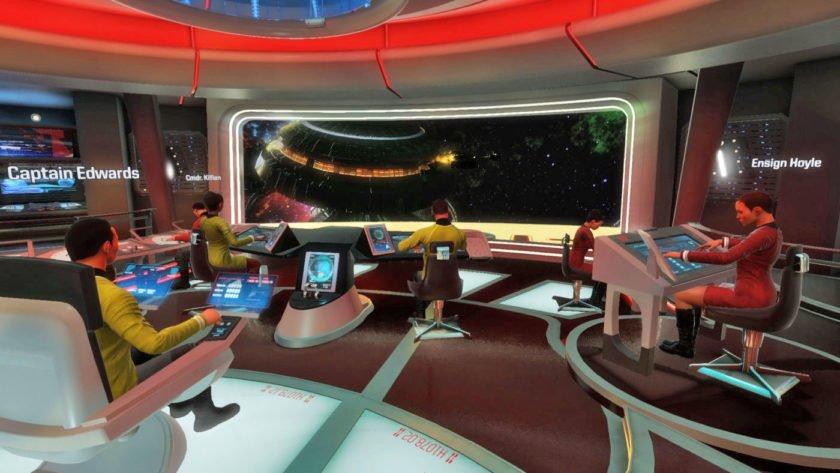 Star Trek: Bridge puts you in the virtual reality captain's chair this fall