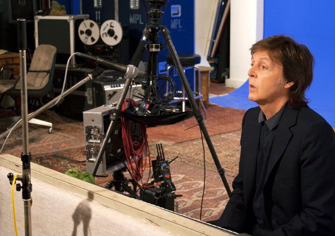 Paul talks about the 'Early Days' of @thebeatles in @jauntvr virtual reality documentary: