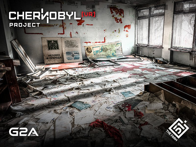 #ChernobylVR by @TheFarm51 is available on G2A!  #gamedev #indiedev #vr
