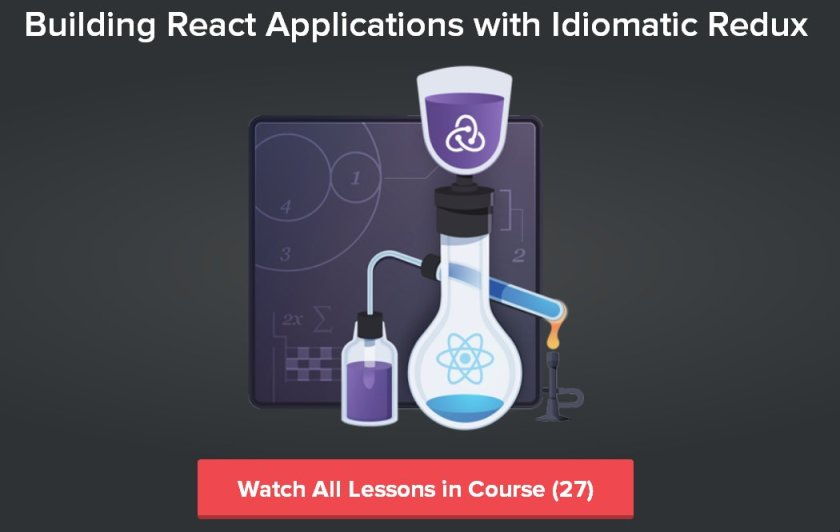 [Course] #ReactJS: Building React Applications with Idiomatic #Redux