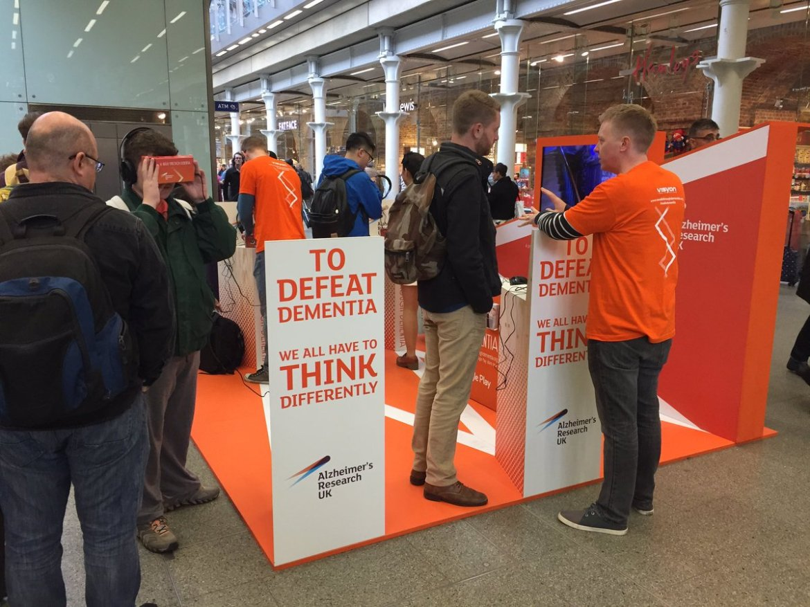 Do pop down and visit us @StPancrasInt to try out our new virtual reality experience -