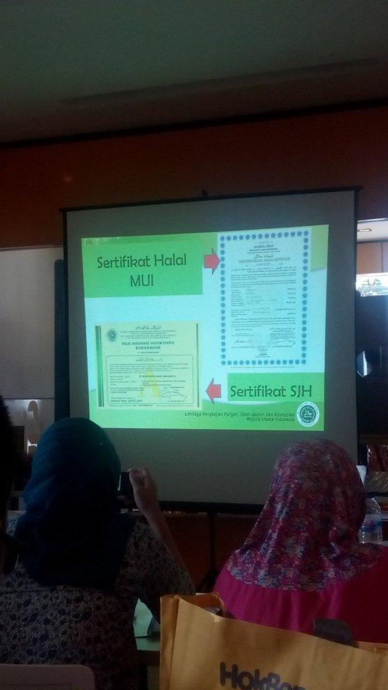 perbedaan sertifikat halal MUI dan sertifikat Jaminan Halal MUI