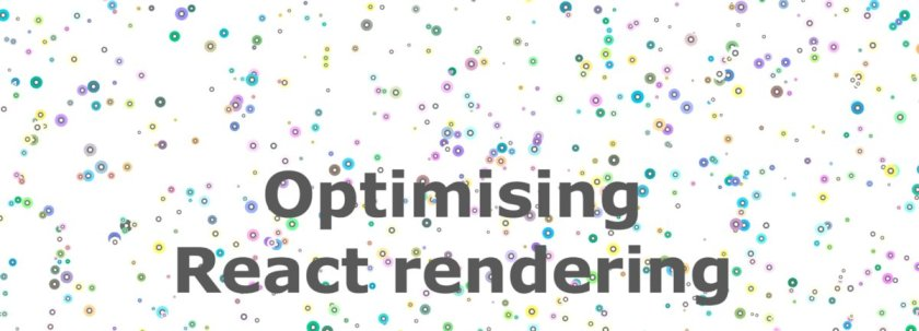 Awesome tips to optimise rendering of a set of elements in #ReactJS: