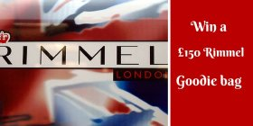 Win a 150 Rimmel goodie bag!Just click bbloggers FreebieFriday
