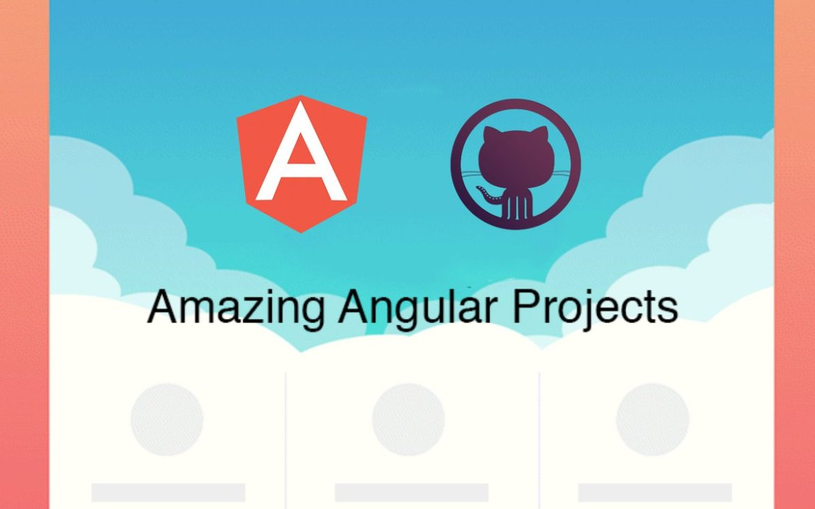 Amazing-Angular-Projects is also on Github. Feel free to contribute! #JavaScript