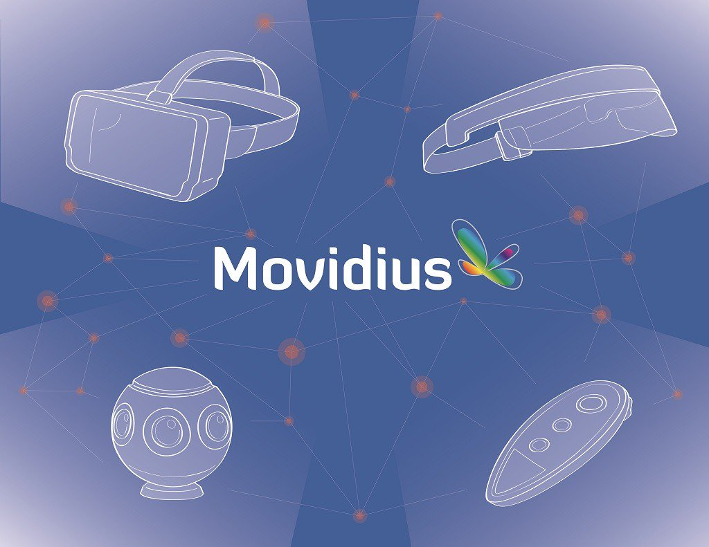 .@Lenovo partners with @movidius plans for future #VR push:
