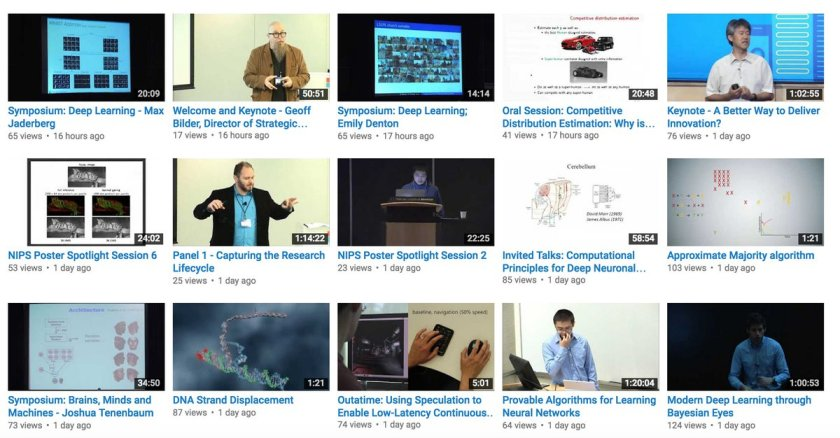In the past week, MS Research shared 180+ videos on YouTube. Most involve #MachineLearning.