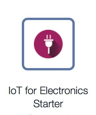 Starter blueprint for #iot on #ibmbluemix  #machinelearning #bigdata #blockchain