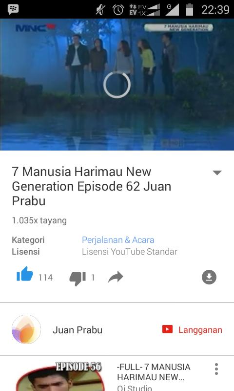 7 Manusia Harimau New Generation Episode 1 : manusia, harimau, generation, episode, Sawasalsanabila, (@sawasalsanabil2), Twitter