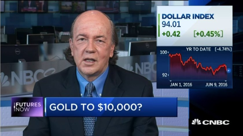 My new interview @CNBC today. Deep-dive on short-term & long-term gold price dynamics: