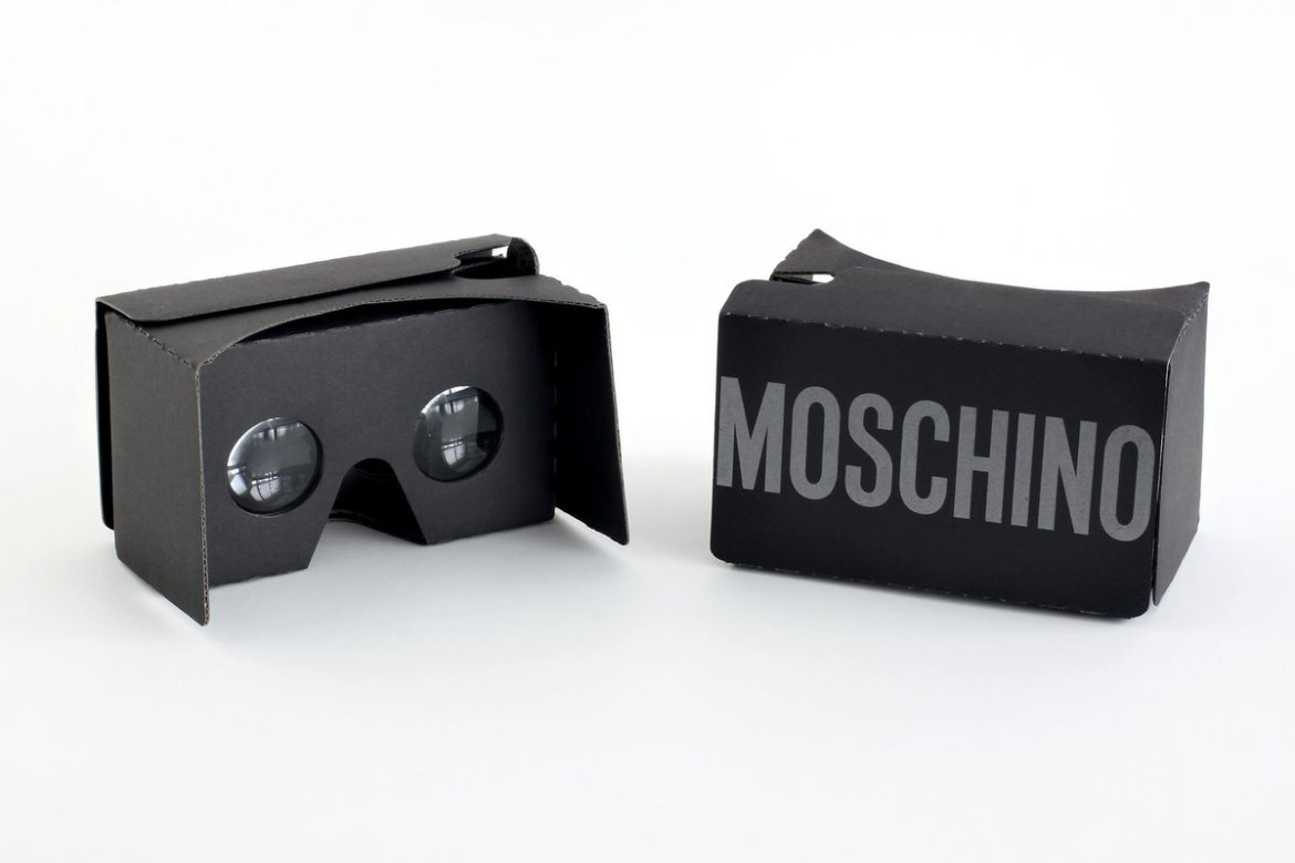 Moschino Will Stream Their SS17 Show Via Free Virtual Reality Headsets  (via @papermagazine)