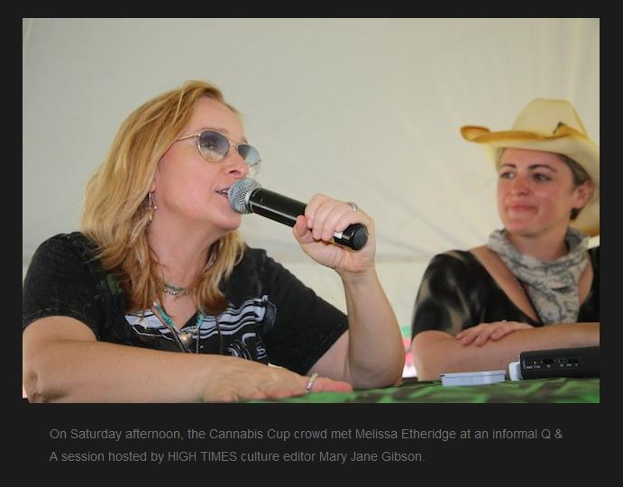 Photos of @metheridge at @HIGH_TIMES_Mag's #CannabisCup   @maryjanegibson