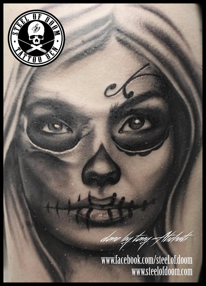 Tony Atichati On Twitter Catrina Tattoo Tattoos Katrina