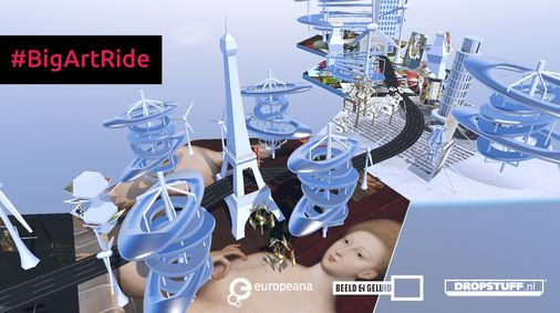 Excellent EU-supported project is coming Paris tomorrow. #BigArtRide combines culture & #VR