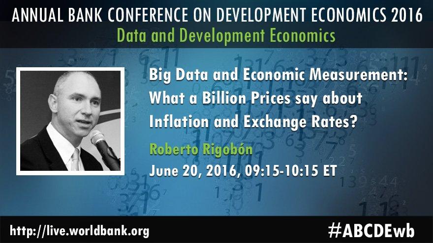 WATCH #BigData & #Economic Measurement by @FuHaishan & @RobertoRigobon #ABCDEwb 6/20