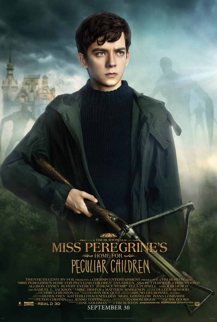 Miss Peregrine's Home for Peculiar Children Character Posters Unveiled 2