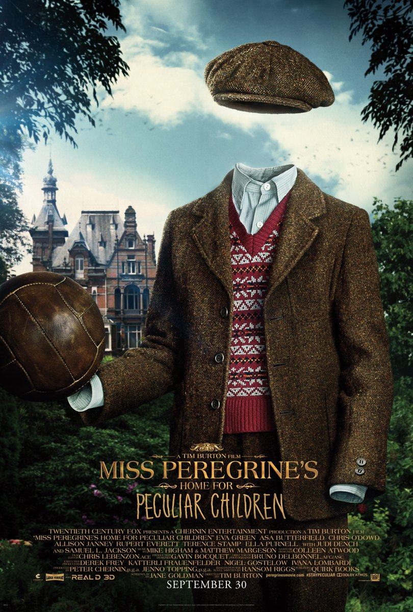 Miss Peregrine's Home for Peculiar Children Character Posters Unveiled 4