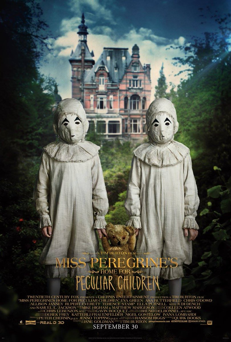 Miss Peregrine's Home for Peculiar Children Character Posters Unveiled 7