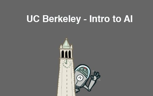 UC Berkeley AI Course Materials. Courtesy of @UCBerkeley #MachineLearning #Programming