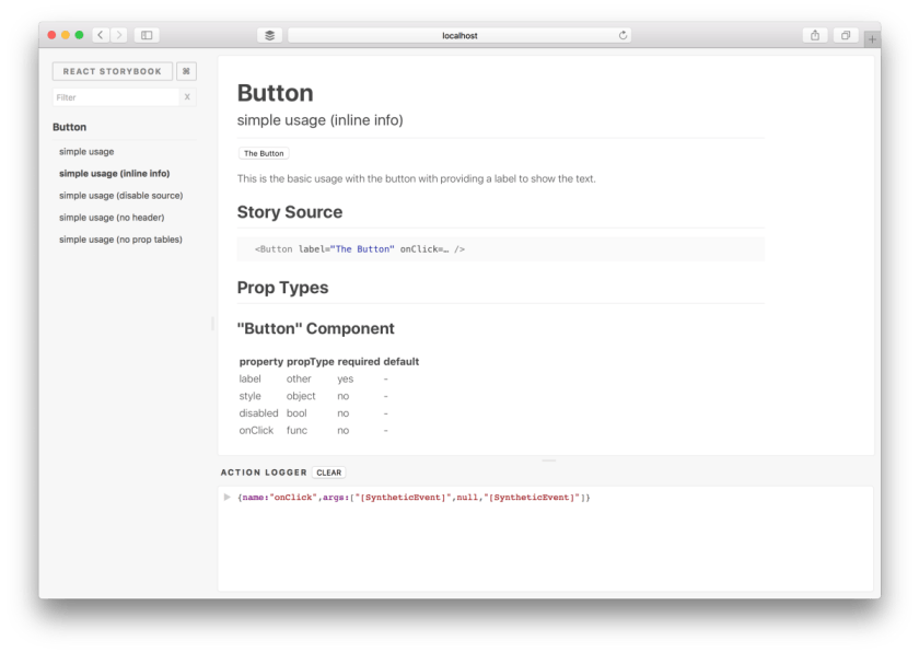 We've introduce a new extension API for #reactjs storybook: