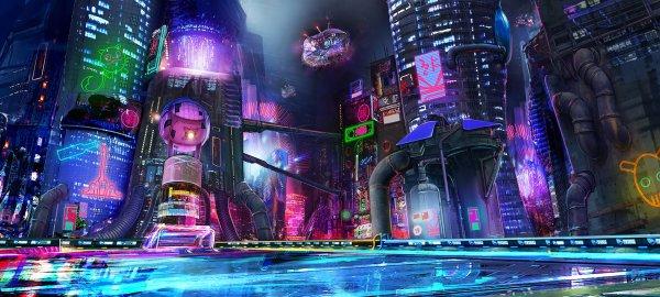 """Rocket League Twitter """"soak In Neon Original"""
