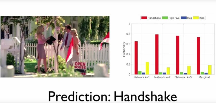 Hug or handshake? @MIT researchers created an #AI system that can predict human interactions