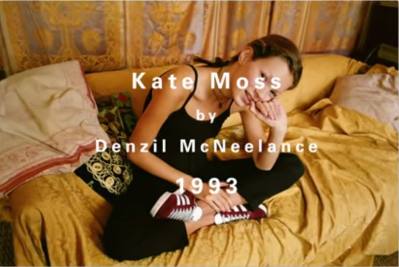 Kate Moss singlehandedly just brought back 90s @adidas Gazelles with one throwback photo: