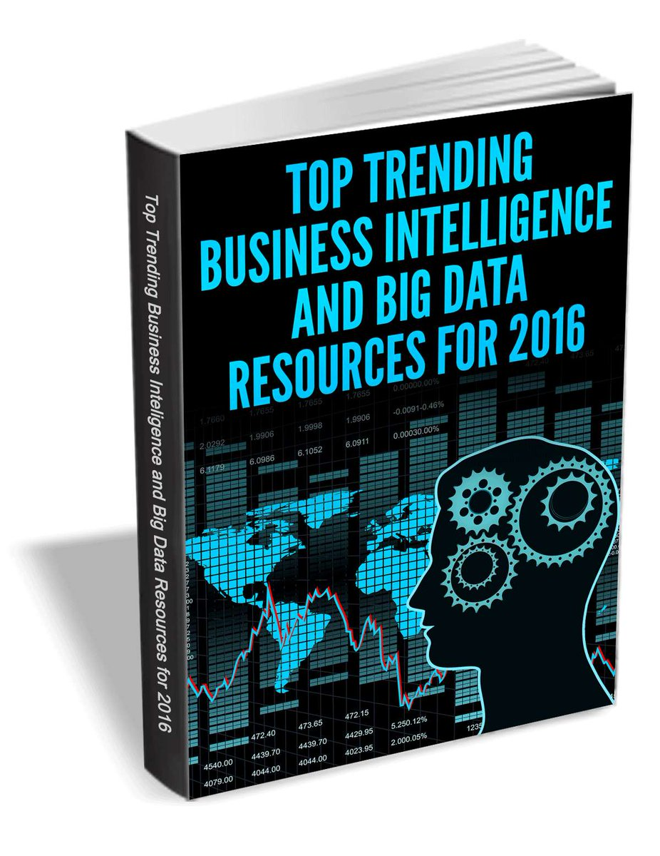 Top Trending #BI and #BigData Resources for 2016:  #Analytics #DataScience by @TradePub