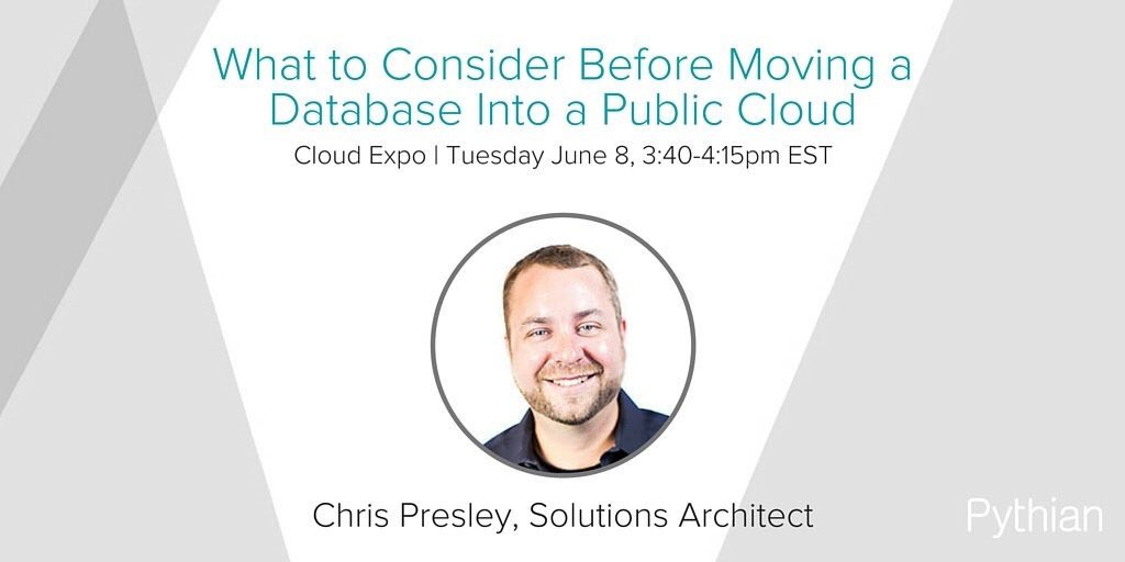 Chris Presley Slides  @Pythian #BigData #DataCenter #Storage #IoT #M2M #DigitalTransformation