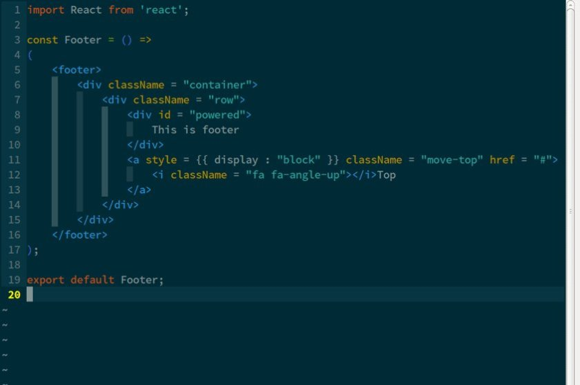 Enable syntax highlighting, eslinting, auto completions in vim for #ReactJS development: