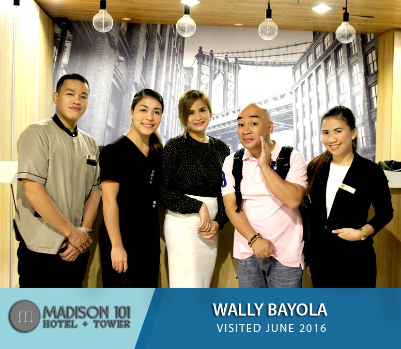 Madison 101 On Twitter Mr Wally Bayola Doing The Famous