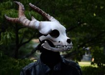 Fursuit Dog Skull Mask - Year of Clean Water