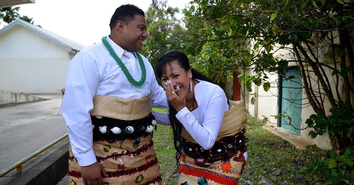 Image result for happy tongan couple