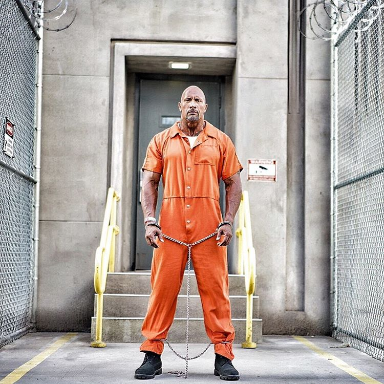 Dwayne Johnson's Hobbs Heads To Prison In A New Fast 8 Photo 1