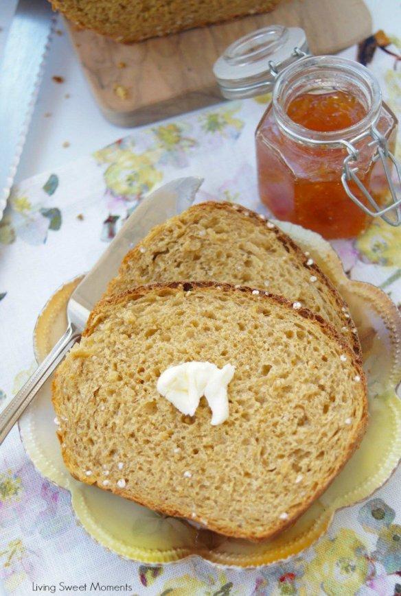 Super delicious Irish Oatmeal Bread made