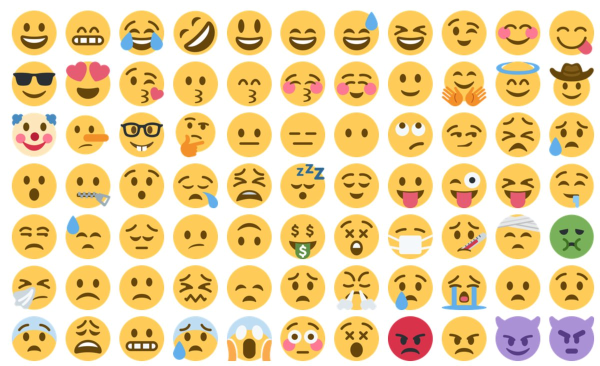 emoji on twitter new
