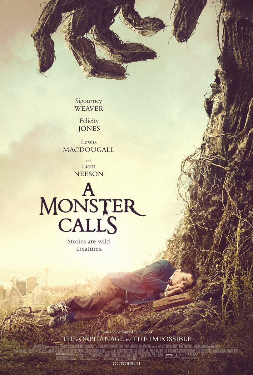 A Monster Calls Trailer Featuring Liam Neeson 2