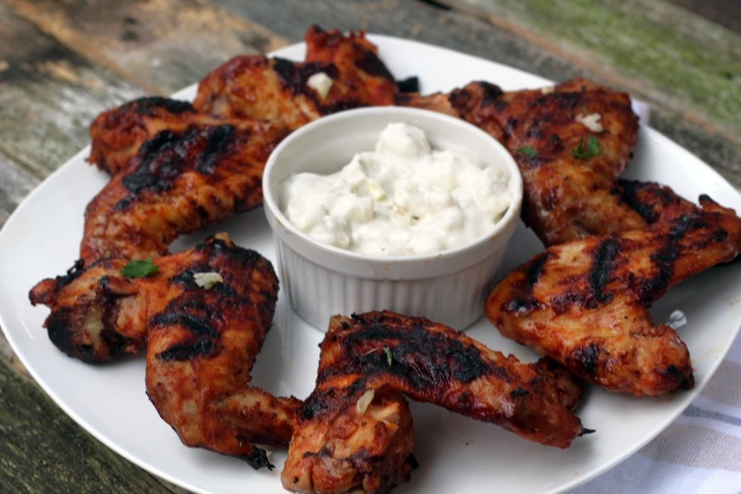 Grilled Spicy Chicken Wings are just a great BBQ treat