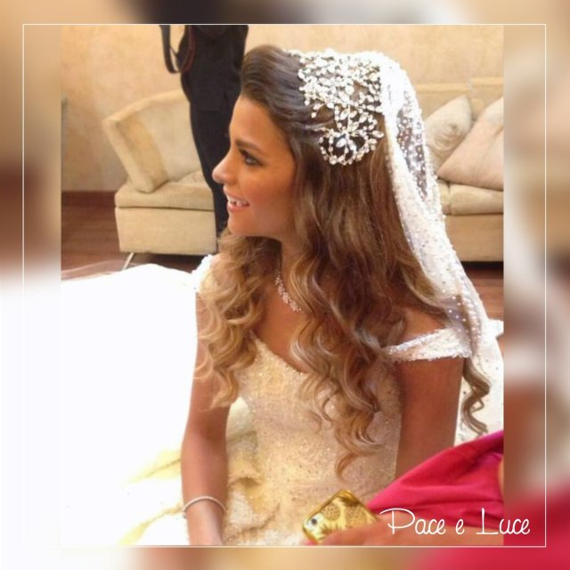 """pace e luce official on twitter: """"gorgeous bridal hairstyle"""