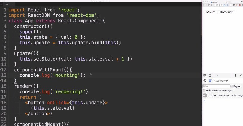 #ReactJS fundamentals: Component lifecycle – Mounting usage