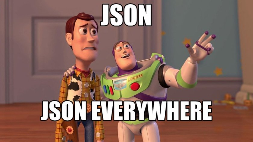 JSON Powers The World  #javascript #webdev #angularjs #nodejs #php #RubyonRails #reactjs