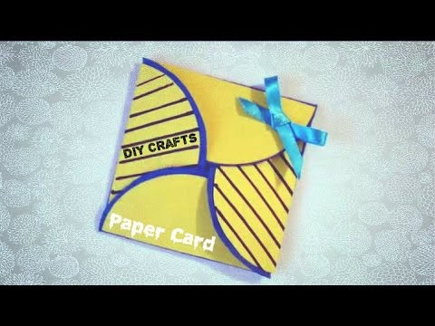 Simple Origami Paper Card